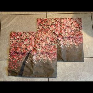 New! Japanese cherry blossom pillow covers